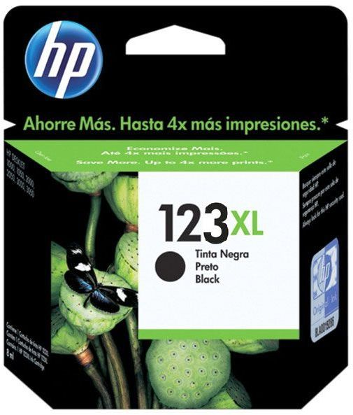 HP F6V19AE 123XL High Yield Black Original Ink Cartridge