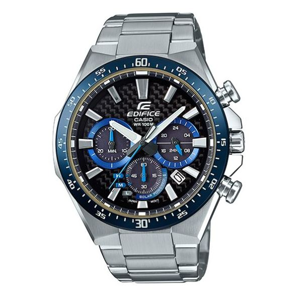 Casio EQS800CDB1BVUDF Edifice Solar Powered Watch