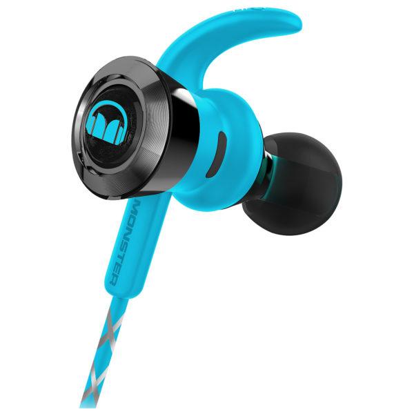 3e89f95e2f2 Monster iSport Victory In-Ear Bluetooth Sport Headphones Blue 137086-00