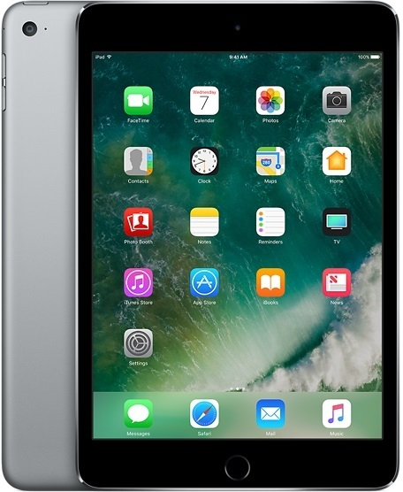 Apple iPad Mini 4 Tablet - iOS WiFi 128GB 2GB 7.9inch Space Grey