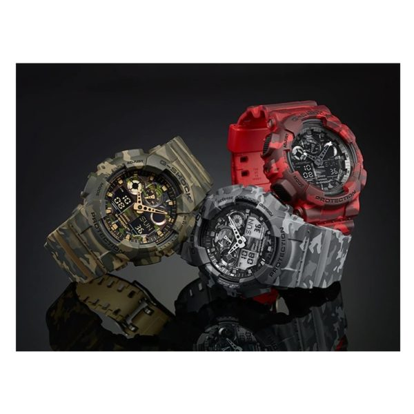 Casio GA100CM8ADR G Shock Watch