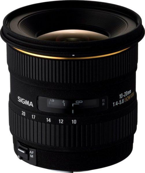 Sigma 10-20C Ex DC HSM Lens For Canon