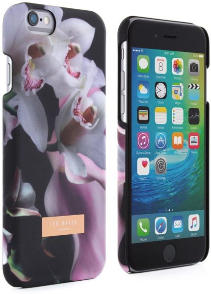59f8bb4748c7 Proporta 35686 Ted Baker Shell Case Ethereal Posie Black For IPhone 6 6S