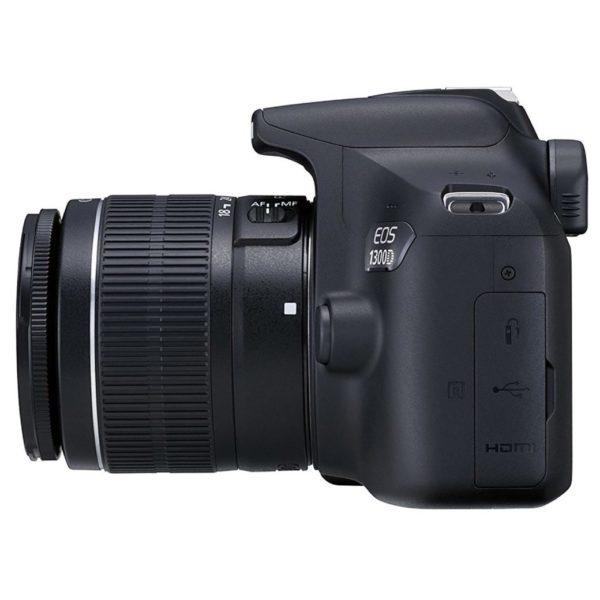 Canon EOS1300D Digital SLR Camera + EFS 18-55mm DC + EF 75-300mm III Lens