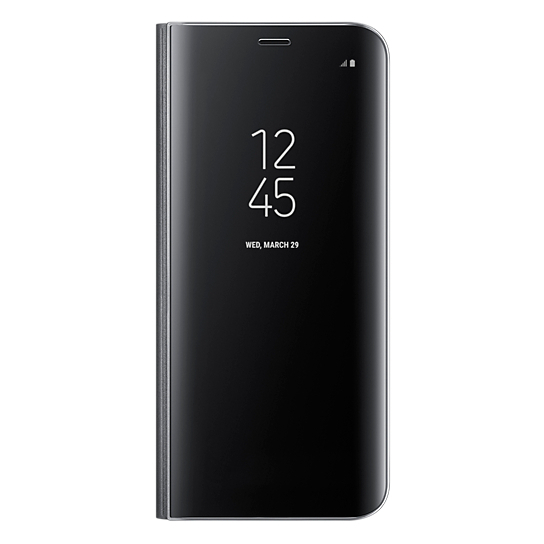 Samsung Clear View Standing Cover Black For Galaxy S8