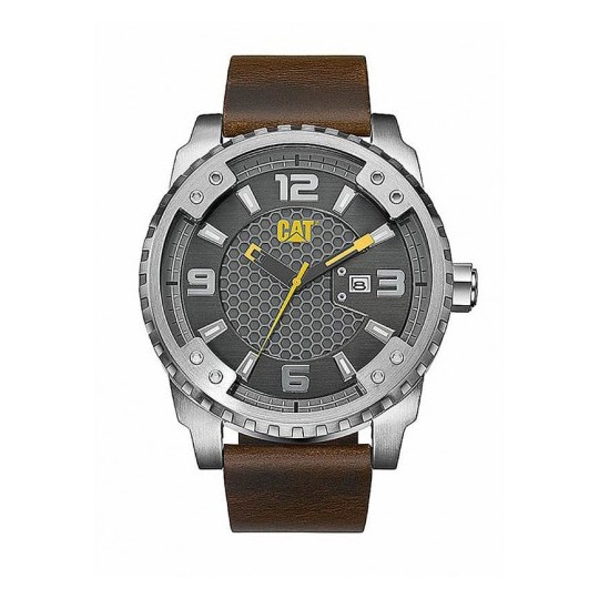 CAT Brown Quartz Men's Watch - SC14135521