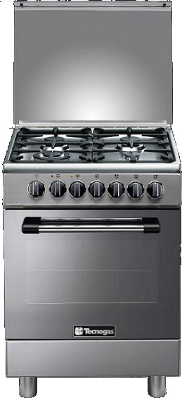 Tecnogas 4 Gas Burners Cooker P3X66G4VC