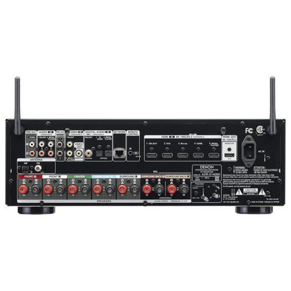 Denon AVRX1400H AV Receiver Black