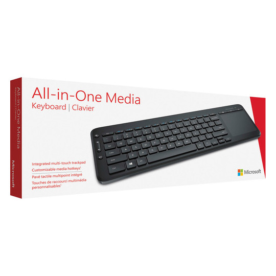 Microsoft N9Z00019 1636 All In One Media Keyboard