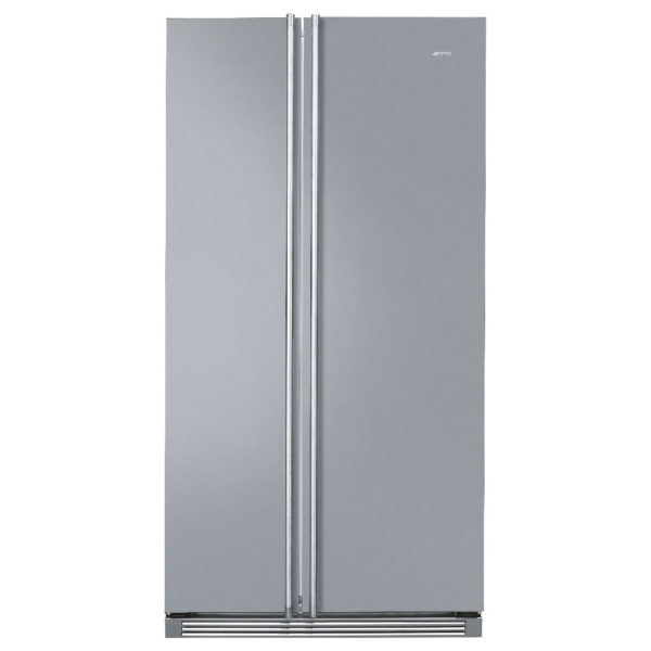 smeg side by side refrigerator 640 litres fa160x price specifications features sharaf dg. Black Bedroom Furniture Sets. Home Design Ideas