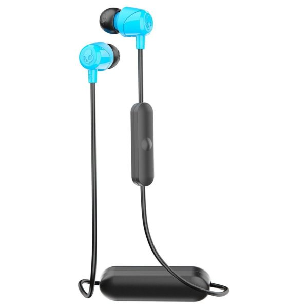 Skullcandy S2DUWK012 JIB Wireless In-Ear Headphones Blue + JIB Earbud wired Earphone