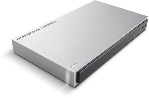 Lacie STET1000400 Porsche Design Hard Drive 1TB Silver
