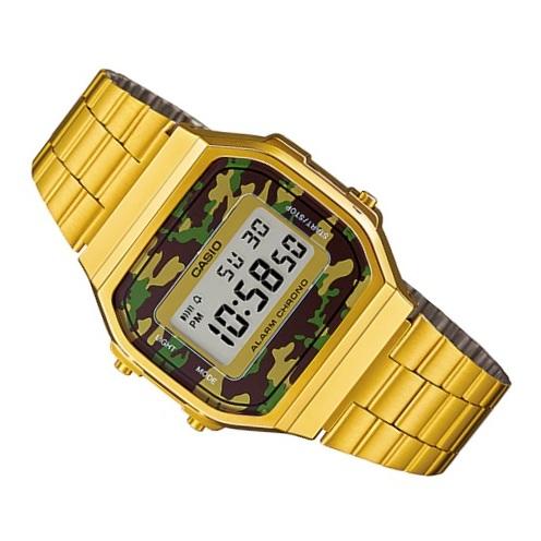 Casio A168WEGC-3 Vintage Unisex Watch