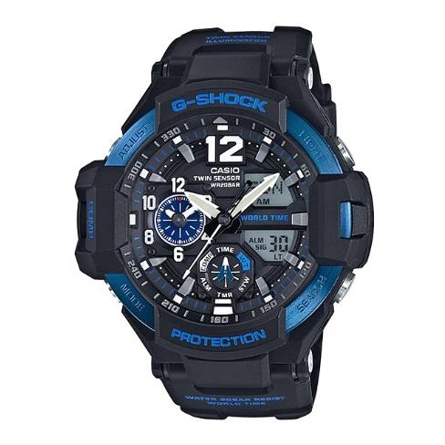 Casio GA11002BDR G Shock Gravity Master Watch