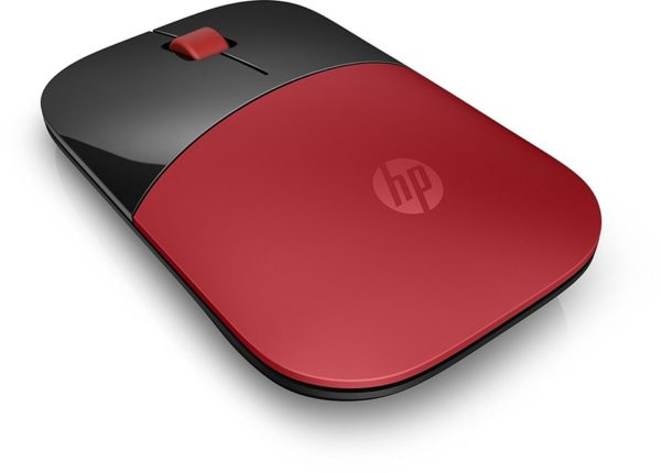 HP V0L82AA Z3700 Wireless Mouse Red