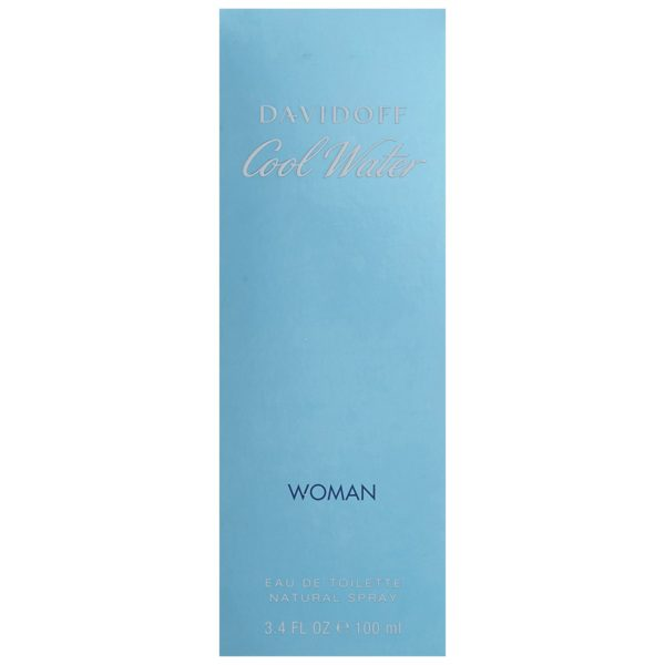 Davidoff Cool Water Perfume For Women 100ml Eau de Toilette