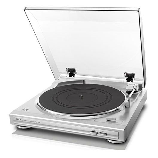 Denon DP29F Turntable Silver