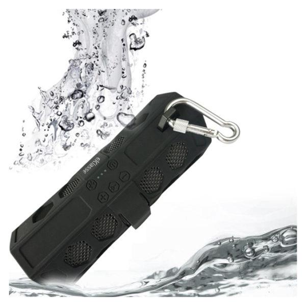 Eklasse EKBTSP18CE Splash Proof Wireless Speaker Black