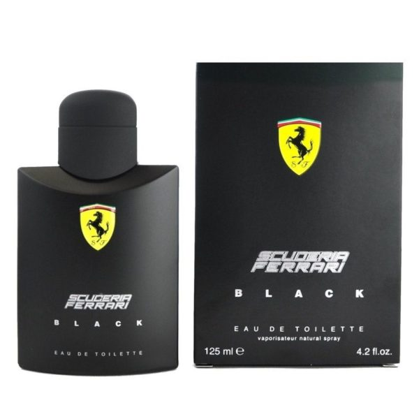 Ferrari Scuderia Black Perfume For Men 125ml Eau de Toilette