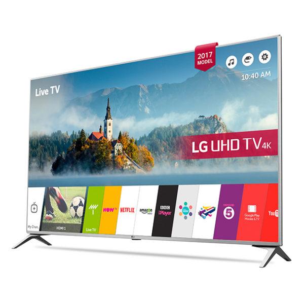LG 55UJ651V 4K UHD Smart LED Television 55inch