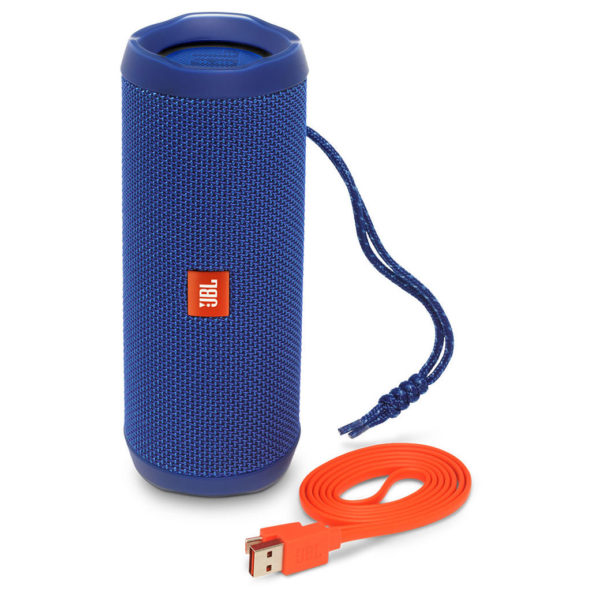 JBL FLIP4 Waterproof Portable Bluetooth Speaker Blue