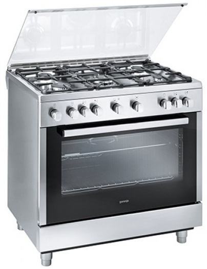Gorenje 5 Gas Burners Cooker GI922E10XKB
