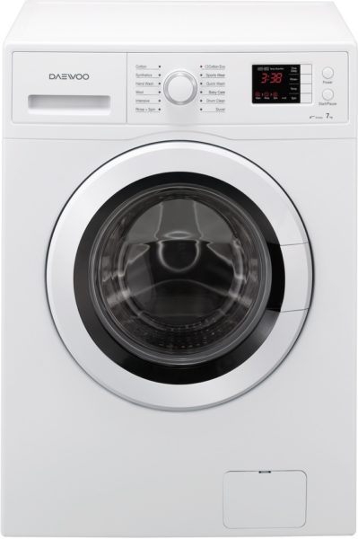 daewoo front load washer 7kg dwdgn1231 price specifications rh uae sharafdg com Daewoo Washer and Dryer Parts Front Load Washing Machine