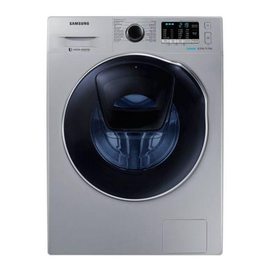 Samsung 8kg Washer & 6kg Dryer WD80K5410OS