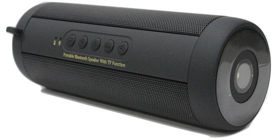 Eklasse Bluetooth Speaker 3Watts x 2 Black W/ Torch - EKBTSP07