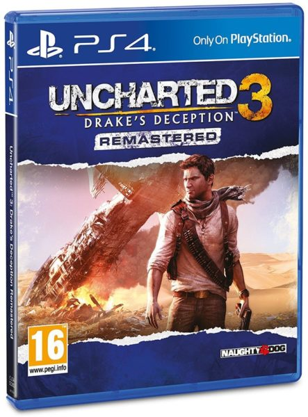 Buy Ps4 Uncharted 3 Drakes Deception Remastered Game Price