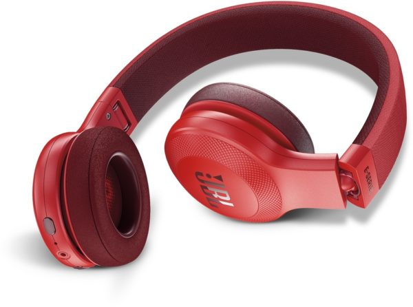JBL E45BT Over Ear Headphone Red