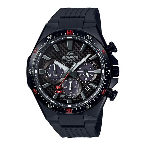 Casio EQS800CPB1AVUDF Edifice Solar Powered Watch