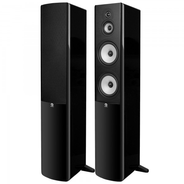 boston acoustics a360b floorstanding speaker black price specifications features sharaf dg. Black Bedroom Furniture Sets. Home Design Ideas