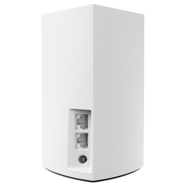 Linksys Velop WHW0101 AC1300 Whole Home Intelligent Mesh WiFi System, Dual-Band, 1-pack