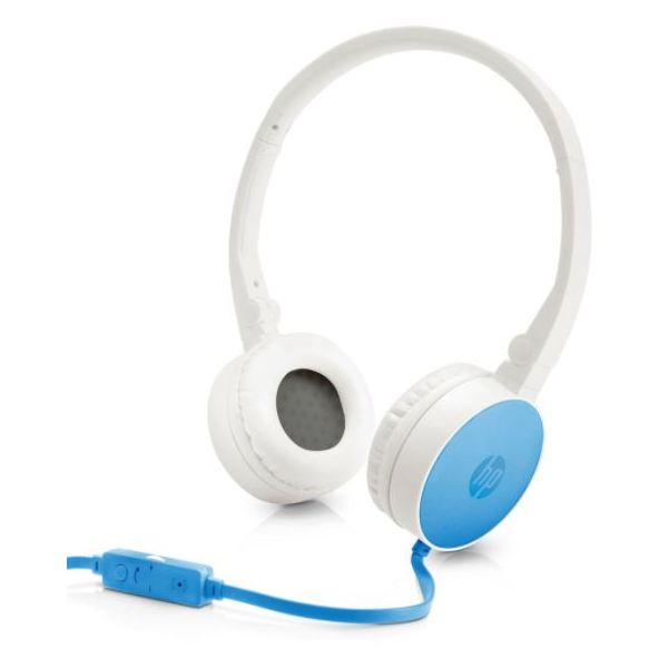 HP J9C30AA H2800 Stereo Headset Blue