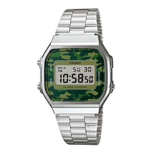 Casio A168WEC-3 Vintage Unisex Watch