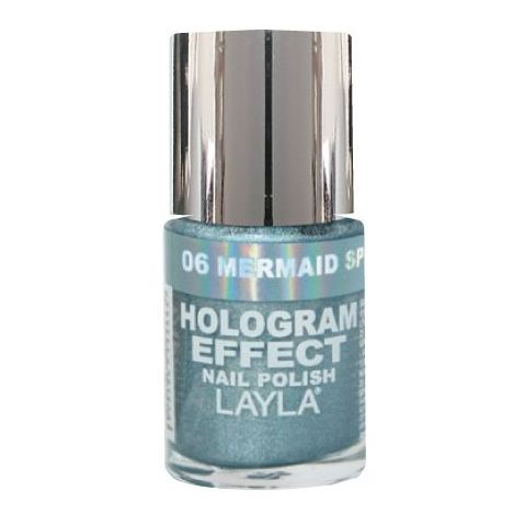 Layla Hologram effect Nail Polish Mermaid Spell 006