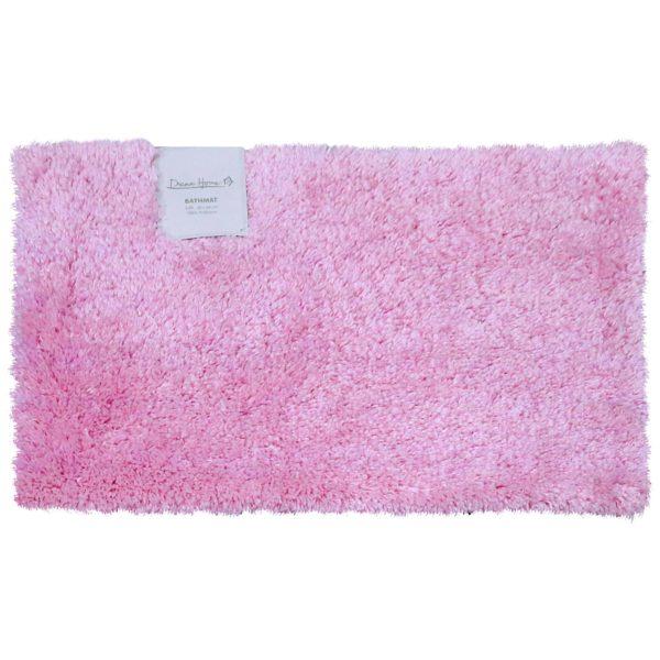 Dream Home SH48740 Polyester Bath Mat 40x60cm Pink