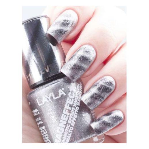 Layla Magneffect Nail Polish Silver Galaxy 011