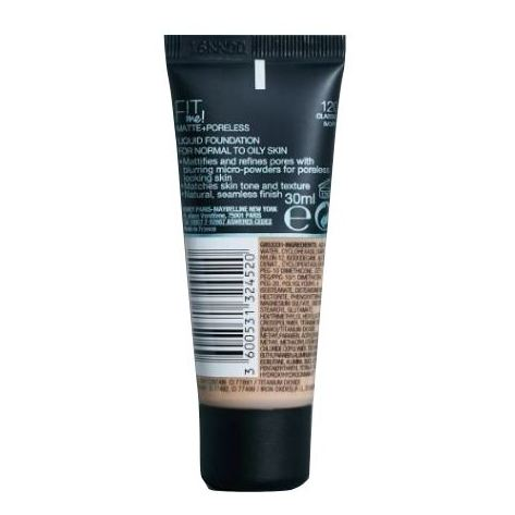 Maybelline Fit Me Matte 120 Foundation