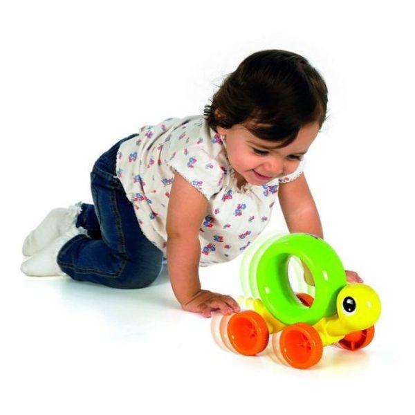 Tomy Toomies Push N Chase Turtle E72200