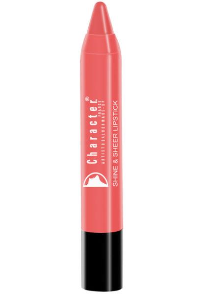 Character Shine & Sheer Lipstick Brown SSL005