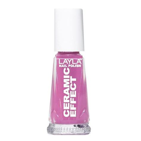 Layla Ceramic Effect Nail Polish Sour Cherry 058