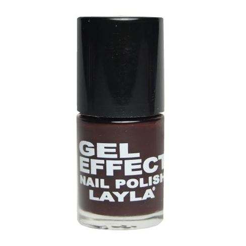 Layla Gel Effect Nail Polish Raisin 030