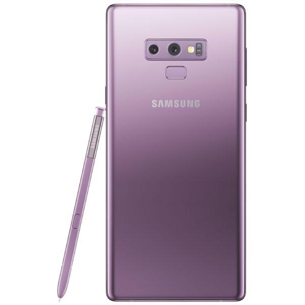 Samsung Galaxy Note9 128GB Lavender Purple 4G LTE Dual Sim Smartphone SMN960F