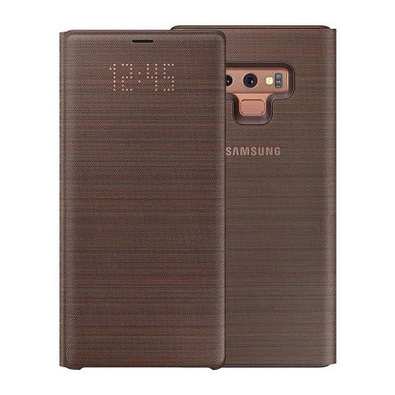 Samsung LED View Case Brown For Galaxy Note 9 (Delivery on 25th Aug)