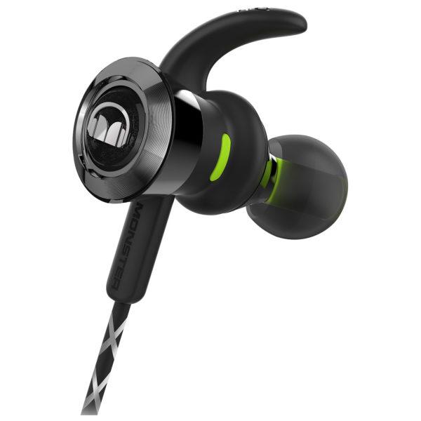 bf864e7412b Monster iSport Victory In-Ear Bluetooth Sport Headphones Black 137085-00