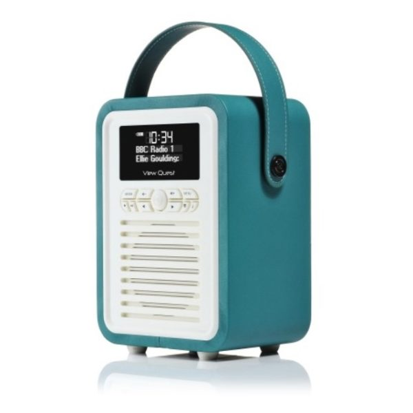 Viewquest Retro Mini Radio Teal