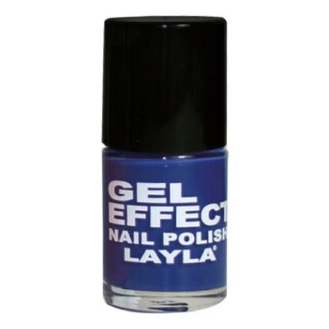 Layla Gel Effect Nail Polish Bahamas Blue 018