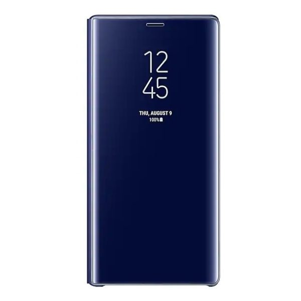 Samsung Clear View Standing Case Blue For Galaxy Note 9